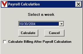 select calculate billing after payroll